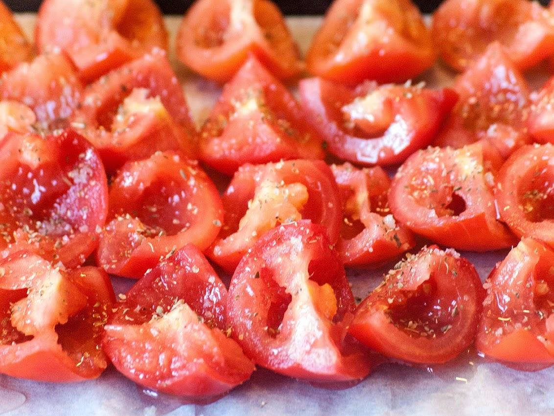Tomates séchées au four à l'Italienne