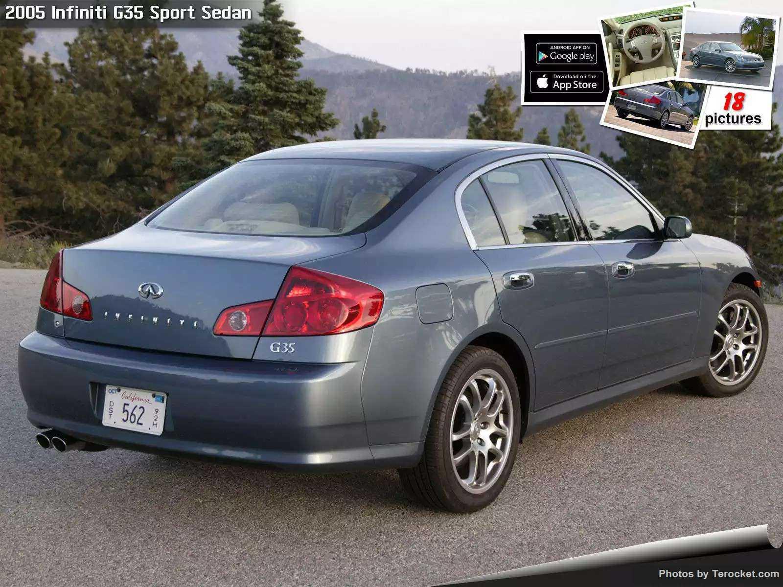 Hình ảnh xe ô tô Infiniti G35 Sport Sedan 2005 & nội ngoại thất