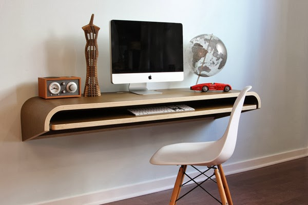 Floating Modern Home Office Desk