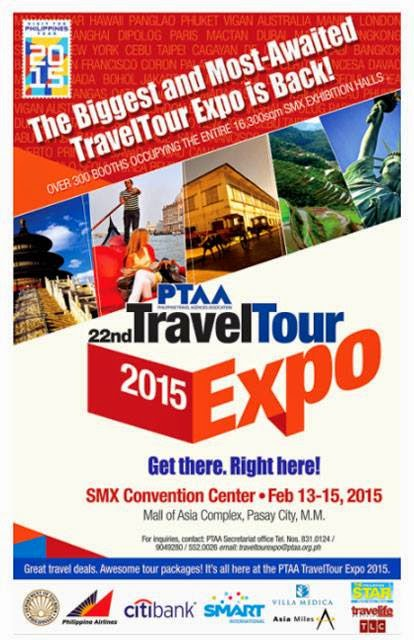 Travel Tour Expo 2015 at the SMX Convention Center