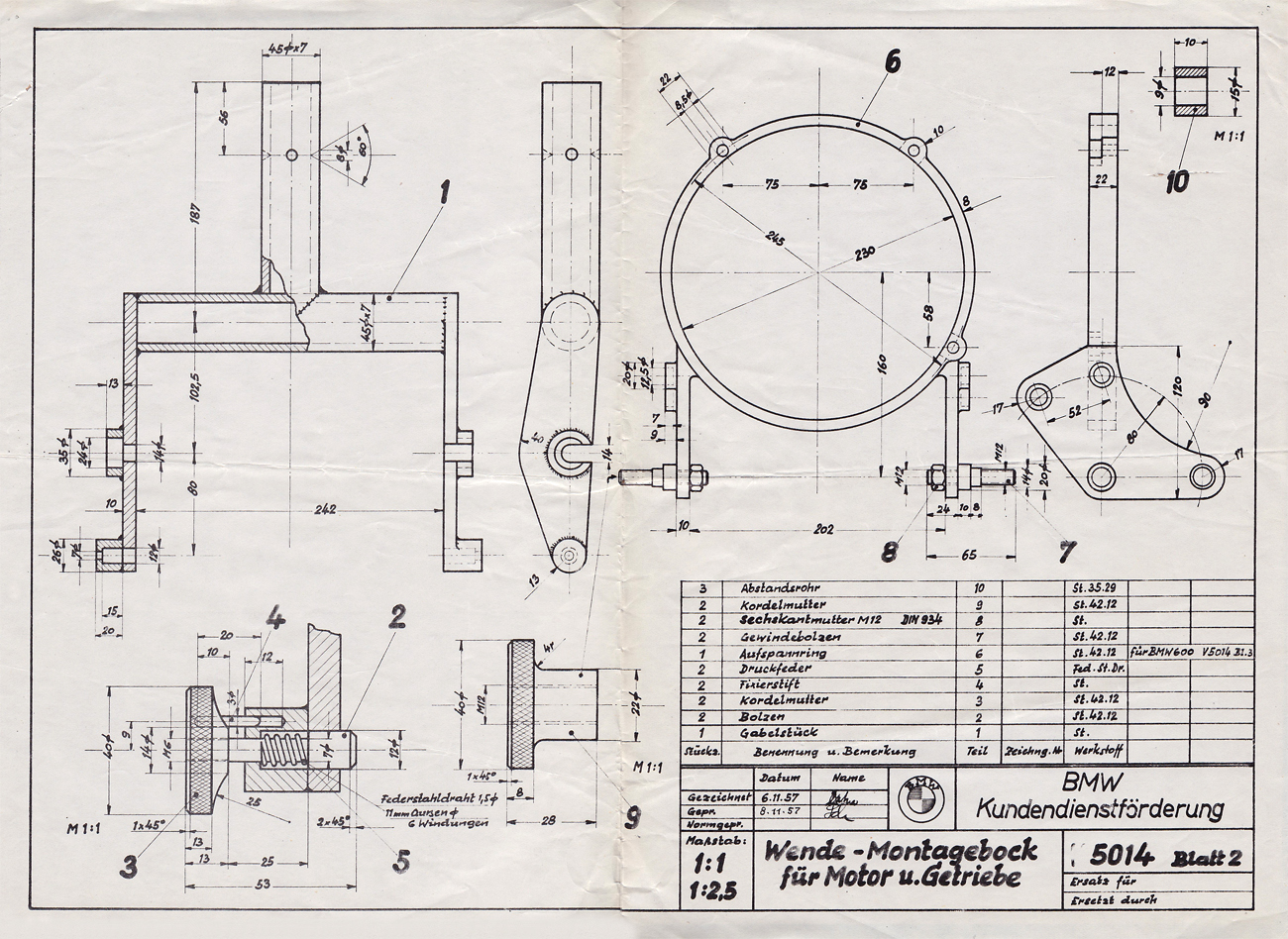 funky car engine blueprints pictures