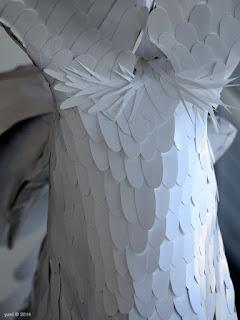 plastic feathers