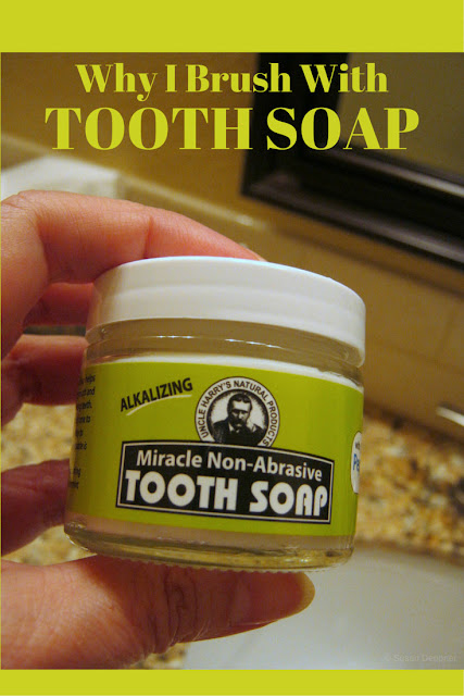 SLS-Free Toothpaste and Why I Brush With Tooth Soap