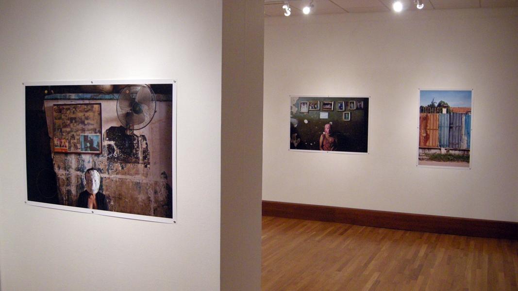 Hanging Unframed Photographs Niu Art Museum