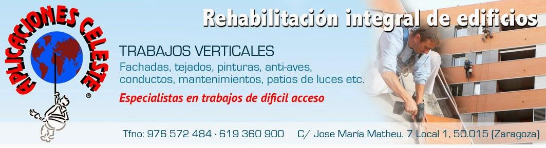 Aplicaciones Celeste - Pinchos y redes antipalomas en Zaragoza - Stop a las aves