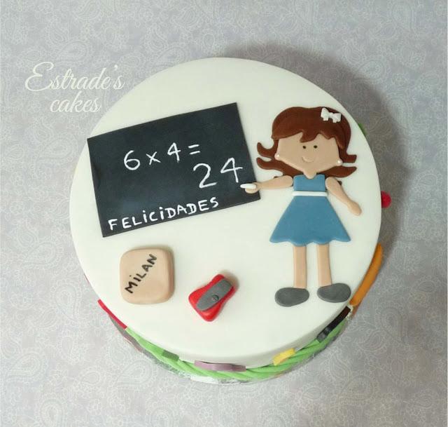 tarta para una maestra 3