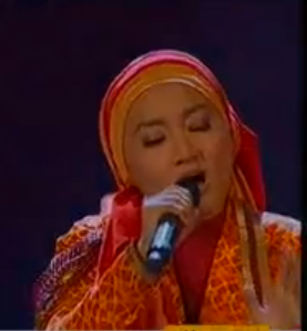 6  FATIN SHIDQIA LUBIS   Girl on Fire