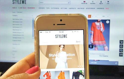 Loja Virtual StyleWe - Virtual Store StyleWe.