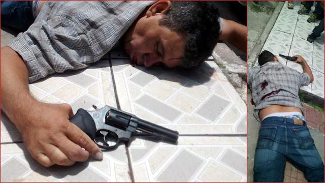 Bandido tenta assaltar ponto comercial em Aracaju e morre baleado