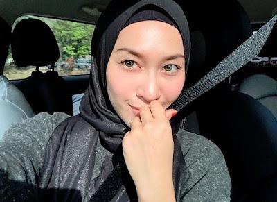Isteri Shukri Yahaya, Tya Adnan Kini Berhijab Penuh?