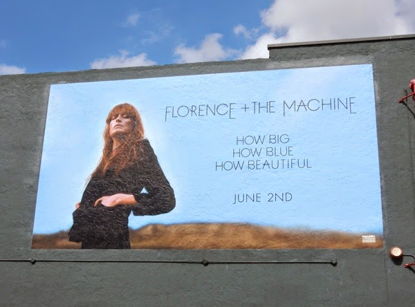 Florence Machine How big blue beautiful album billboard