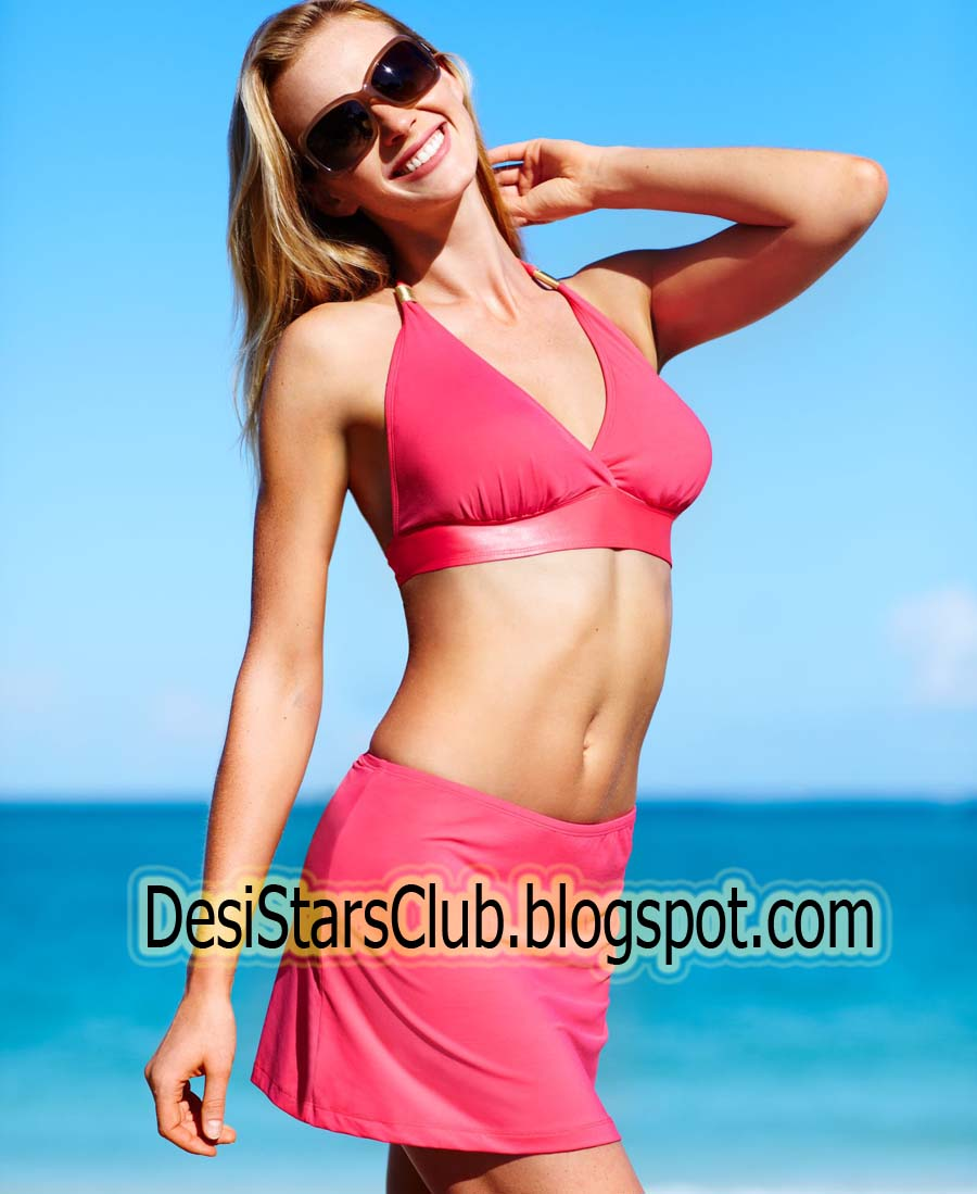 Macy's Swimwear Model Anne Vyalitsyna Photoshoot