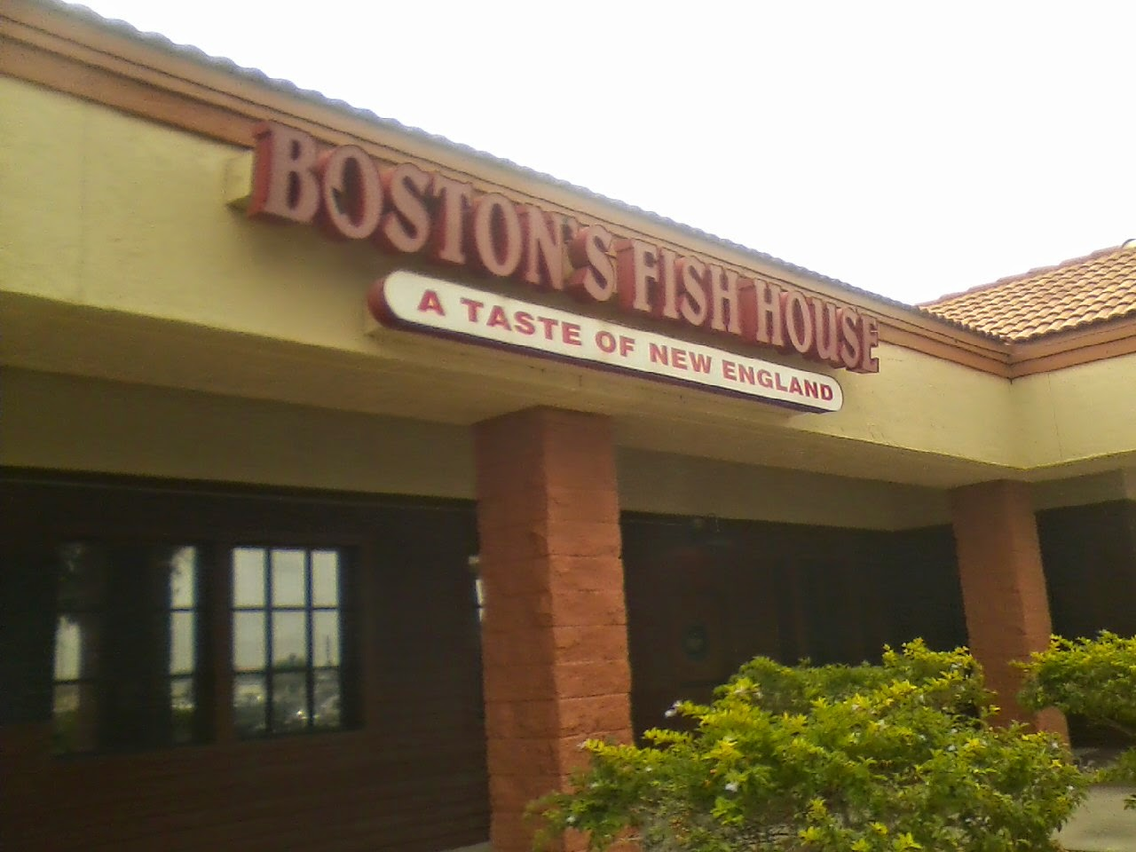 Report from the florida zone boston 39 s fish house for Boston fish house