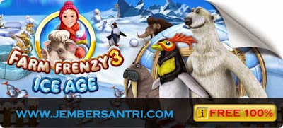 Free Download Farm Frenzy 3 Versi Ice Age PC Games Full Version Terbaru 2014