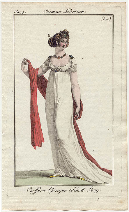 Natalie Garbett Maker Of Historical Clothing And Costumes Fichu The Classical Influence