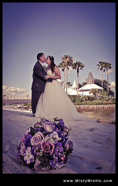 Disney BoardWalk Wedding Reception: Adrienne + Neal