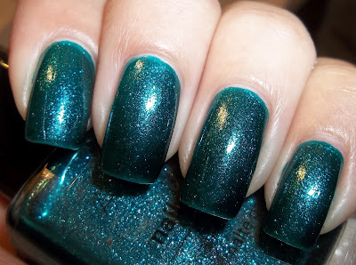 Avon Nail Wear Pro Sequined Turquoise