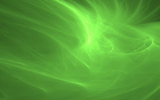 Abstract Green Background Waves wallpaper
