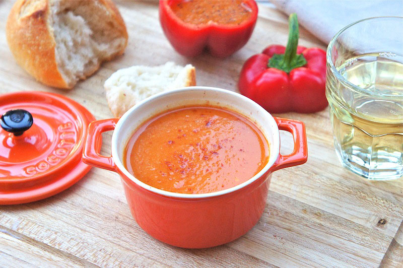 Seasaltwithfood: Roasted Red Pepper Soup