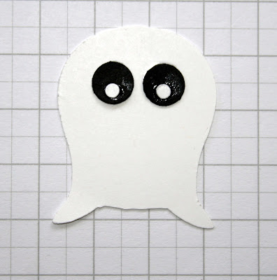 Stampin' Up owl punch ghost