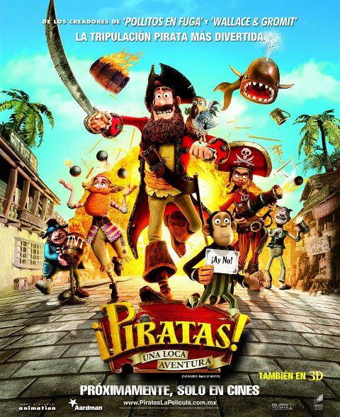 ¡Piratas! [Piratas Una Loca Aventura] [2012][Mf][Mediafire][Latino][DvdRip]