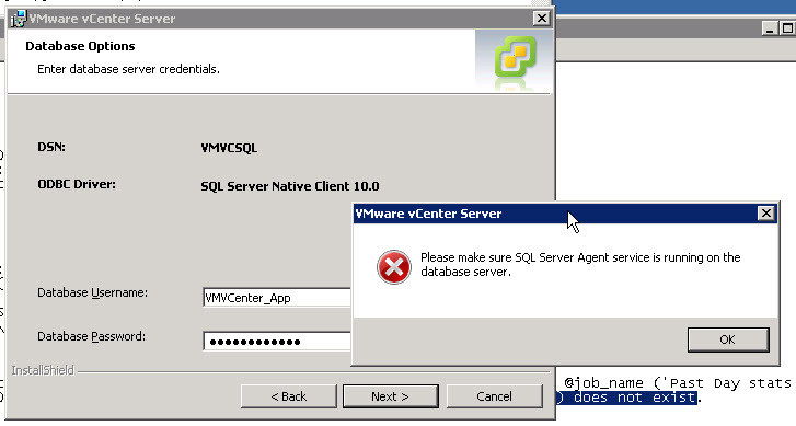 Drew henning vcenter 5 upgrade error sql server agent for Consul server vs agent