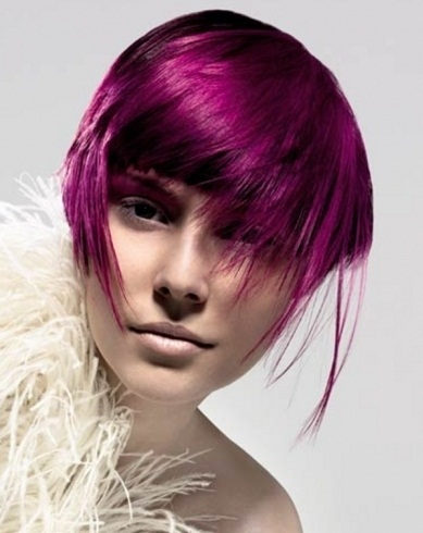 Gorgeous Magenta Hair Color 2014