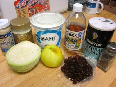 Яблоки, клюква и капуста
