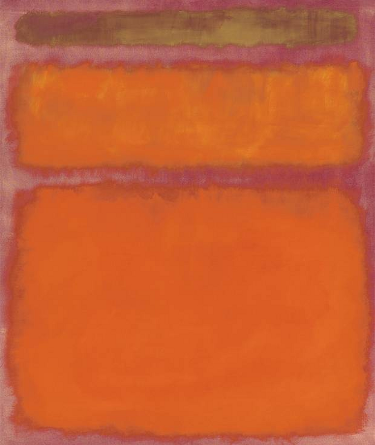 $86m: Mark Rothko - Orange, Red, Yellow
