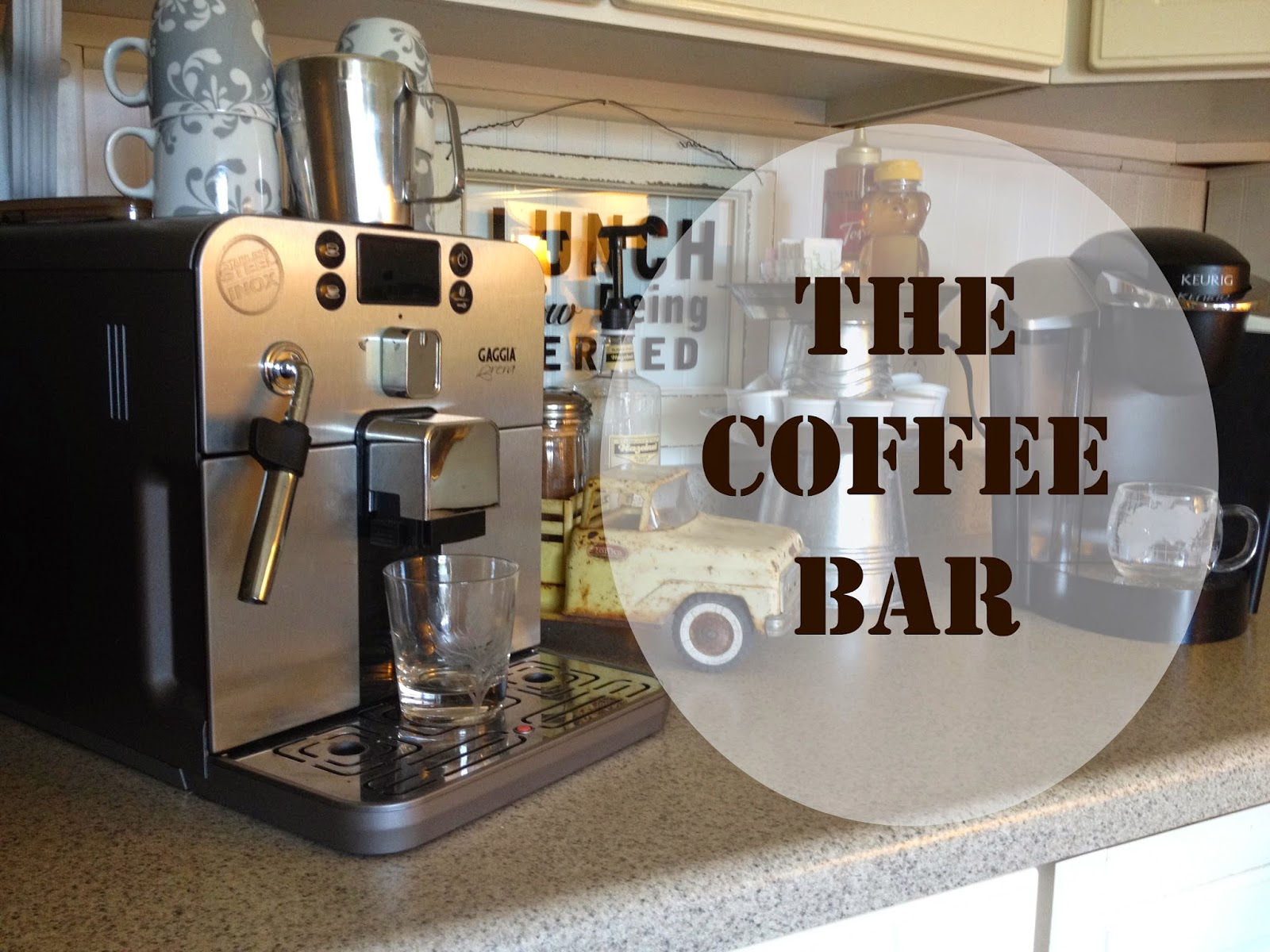 Kitchen Coffee Bar Spain Hill Farm A Coffee Bar For Your Kitchen