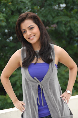 Nisha Agarwal Hot Photos blue dress