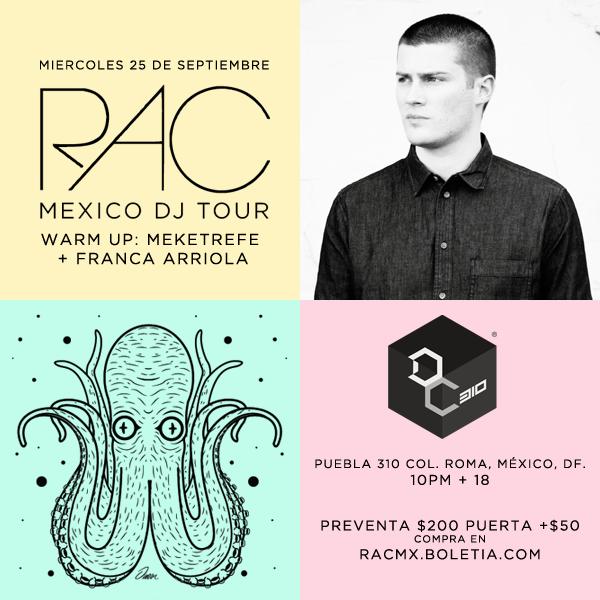 Remix Artist Collective se presenta en la Ciudad de México #RACMX