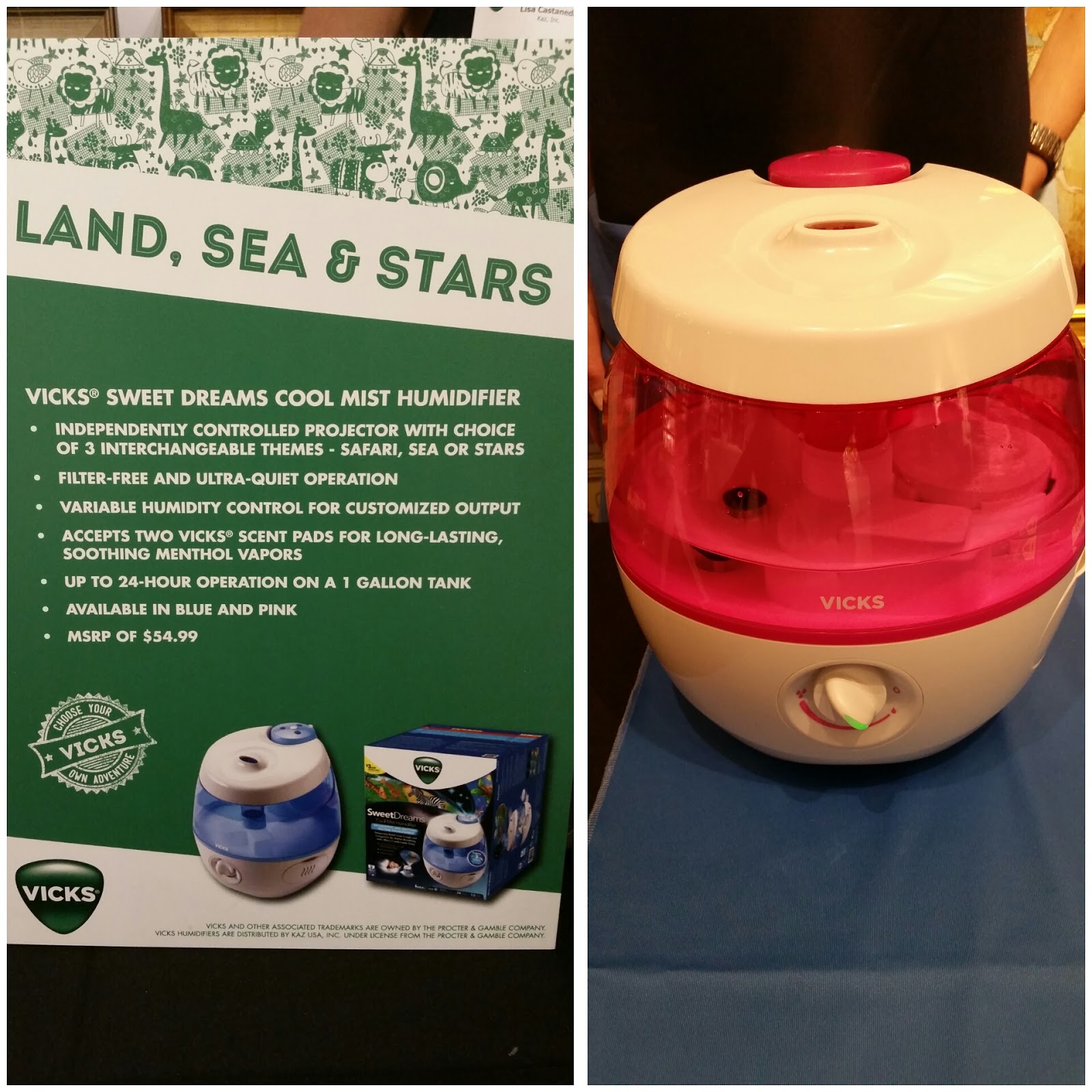 Ones Sleep Easier with the New Vicks Sweet Dreams Humidifier #GIVEAWAY #B01B26