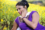 Hari priya photo shoot among yellow folwers-thumbnail-4