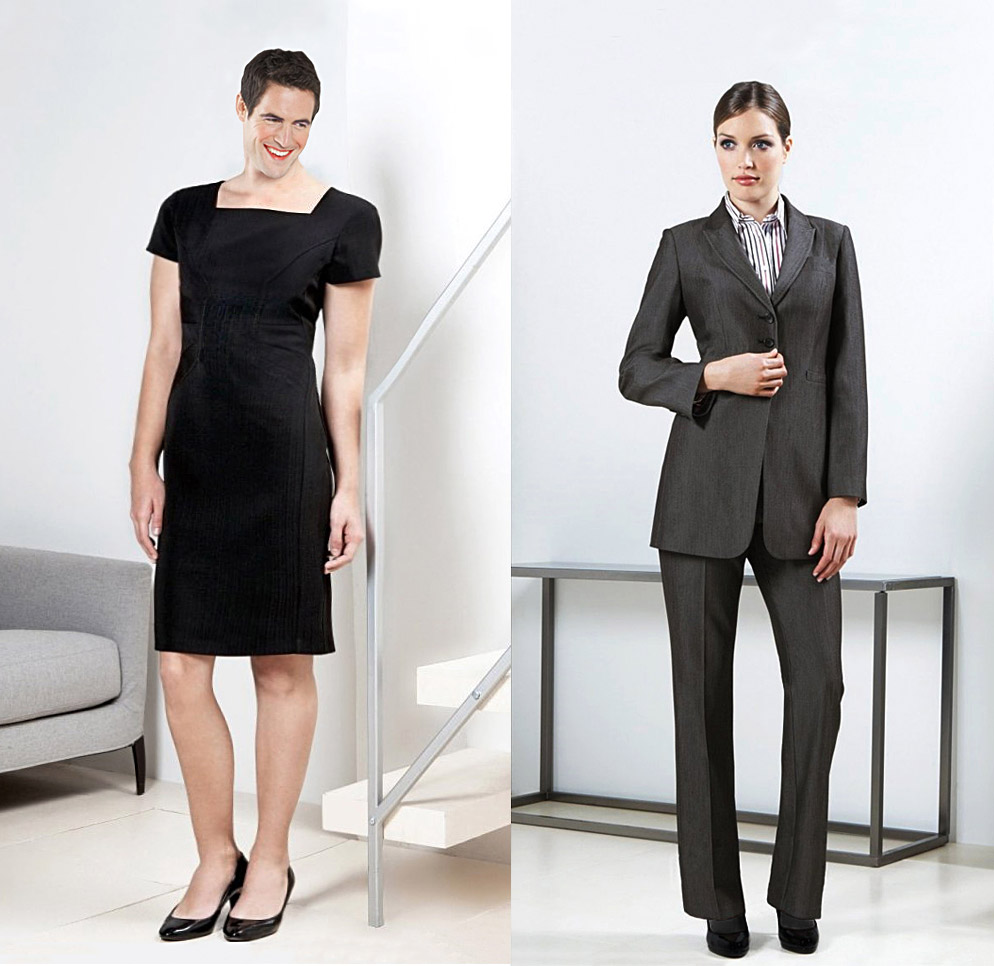 What you girls think if the dress code in your office changes this way