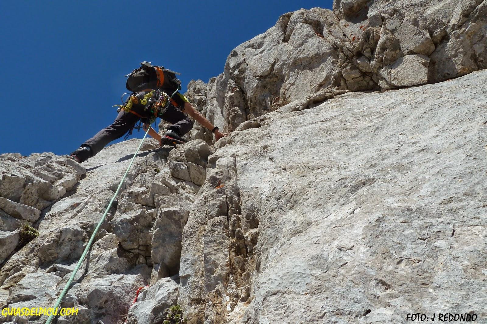 Fernando Calvo Guia de alta montaña. Guiasdelpicu.com