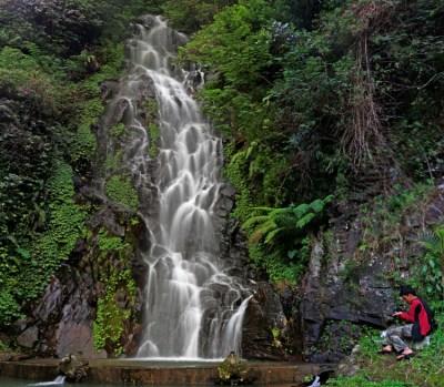Lembutnya Air Terjun Seloprojo ( Sumuran ), Magelang