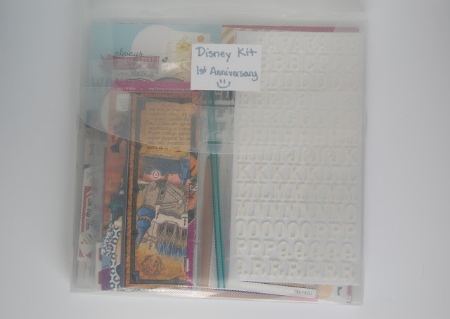 Disney DIY Scrapbook Kit Say Cheese Mickey Mouse Disney World Happiest Place on Earth