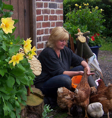 Lou - Chicken whisperer....