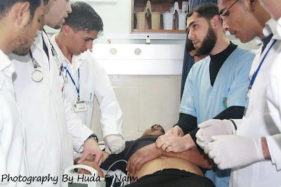 Imagens fortes-atenção- crimes de Israel - foto 14