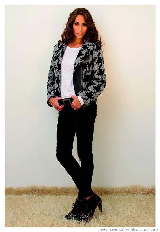 Moda invierno 2014 Marcela Pagella chaquetas y camperas.