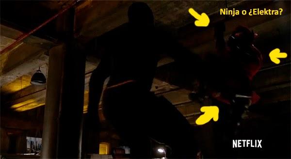 Ninjas en el Daredevil de Netflix