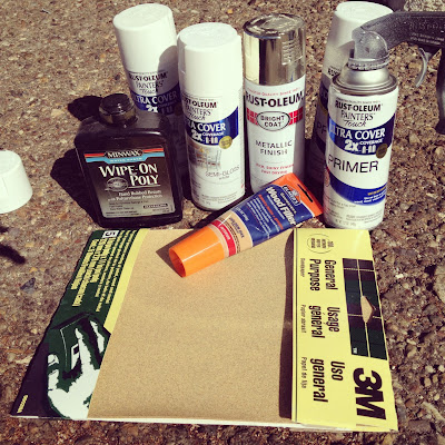 refinish supplies