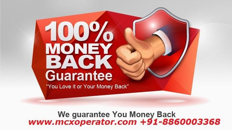 Money Back by www.mcxoperator.com