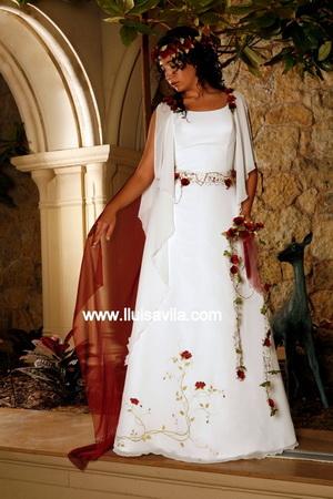 una novia diferente: novias medievales: lluisa vila 2013