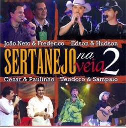 CD Sertanejo Na Veia 2