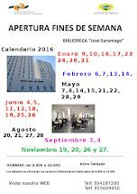 APERTURA FINES DE SEMANA