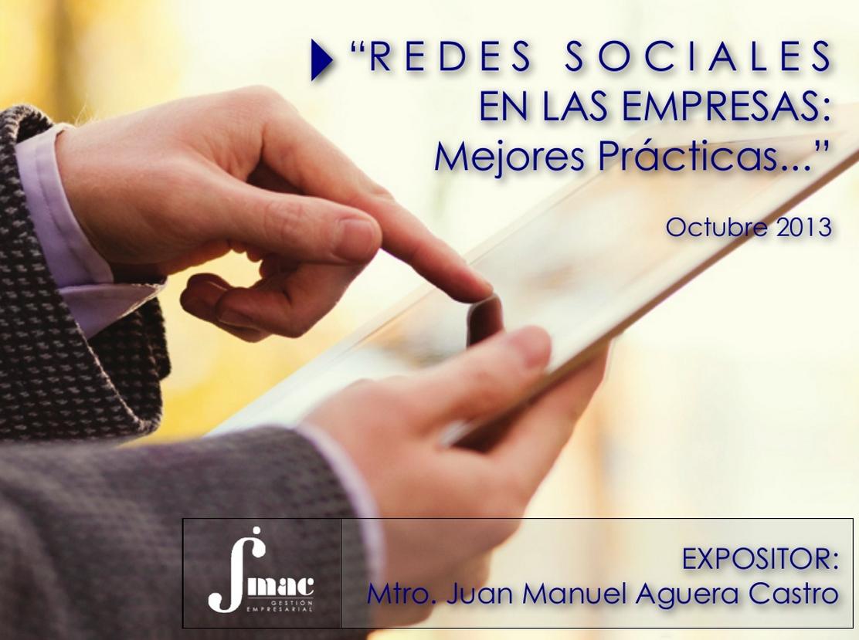 Redes Sociales en las Empresas: Mejores prácticas