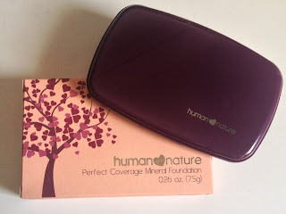 Human Nature Mineral Foundation Shades