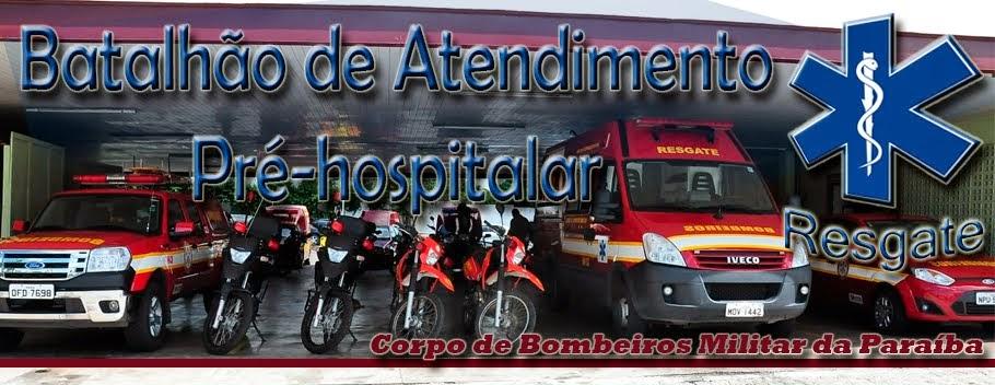 Bombeiros Resgate Paraíba